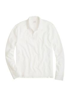 J.Crew Tall long-sleeve classic piqué polo shirt