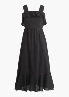 J.Crew Ruffle eyelet dress