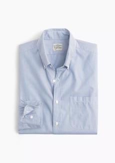 J.Crew Slim Secret Wash shirt in fine stripe