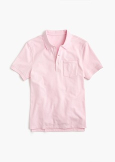 J.Crew Stretch piqué polo shirt