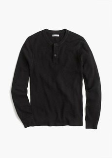 J.Crew Tall Wallace & Barnes thermal henley