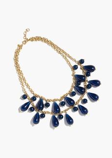 J.Crew Tear drop chain necklace