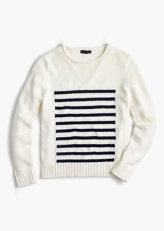 J.Crew Women's 1988 striped rollneck™ sweater