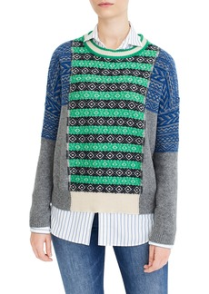 The Reeds x J.Crew Multi Fair Isle Sweater