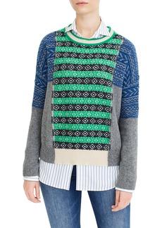 The Reeds x J.Crew Multi Fair Isle Sweater