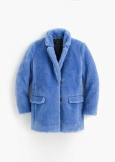 J.Crew The Teddy coat in plush fleece