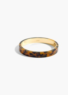 J.Crew Thick resin bangle