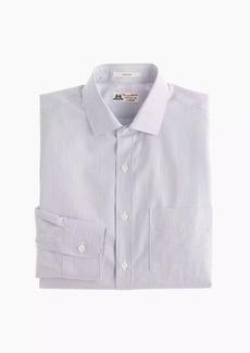 Thomas Mason® for J.Crew Ludlow Slim-fit shirt in paradise blue stripe