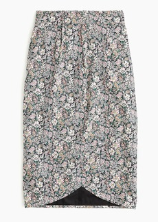 J.Crew Tie-back tulip skirt in Liberty® floral