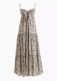 Tie-front dress in Liberty® Rachel floral