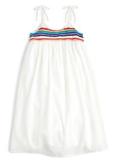 J.Crew Tie Shoulder Dress (Toddler Girls, Little Girls & Big Girls)