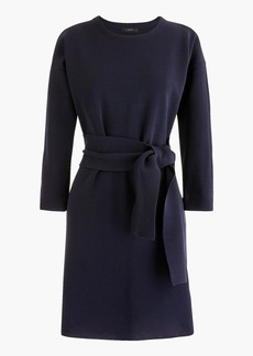 J.Crew Tie-waist cotton dress