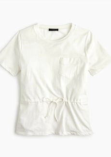 J.Crew Tie-waist pocket T-shirt