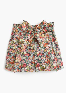 J.Crew Tie-waist short in Liberty® Thorpe floral