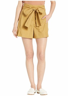 J.Crew Tie-Waist Shorts in Cotton Poplin