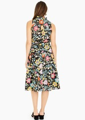 J.Crew Tiered midi skirt in Liberty® Pavilion black floral