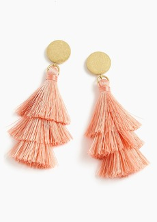 J.Crew Tiered tassel earrings