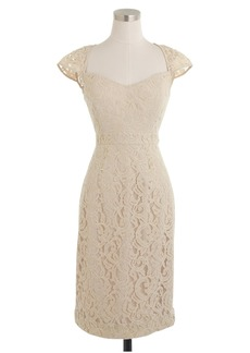 J.Crew Tinsley dress in Leavers lace