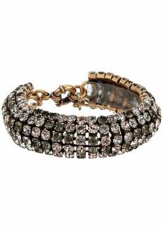 J.Crew Tria Crystal Chain Bracelet