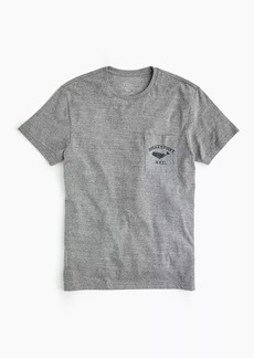 Triblend whale graphic T-shirt