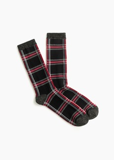 J.Crew Trouser socks in tartan