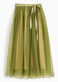 J.Crew Tulle ball skirt