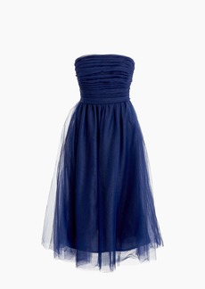 J.Crew Tulle pleated dress