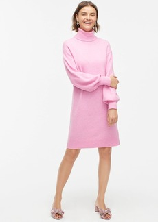 J.Crew Turtleneck sweater dress in supersoft yarn