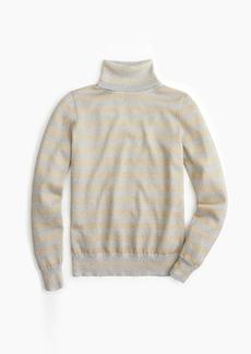 J.Crew Turtleneck sweater in sparkle stripe