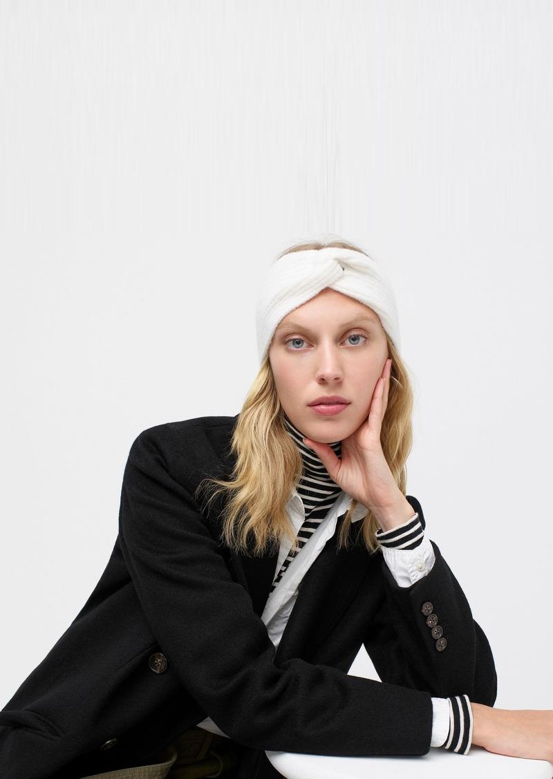 J.Crew Twist headband in supersoft yarn