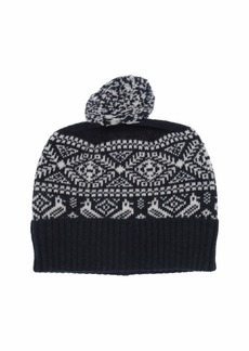 J.Crew Two Color Fair Isle Beanie