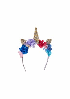 J.Crew Unicorn Floral Headband