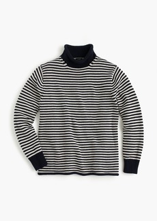 J.Crew Unisex 1988 cotton rollneck™ sweater in stripe