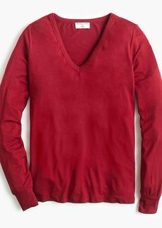 Universal Standard for J.Crew jersey long-sleeve V-neck T-shirt