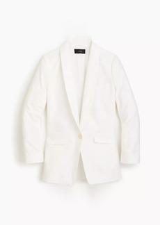 J.Crew Unstructured blazer in cotton-linen