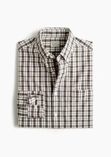 J.Crew Untucked stretch Secret Wash shirt in Ashford tartan