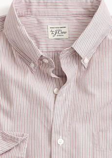 J.Crew Untucked stretch Secret Wash shirt in mixed stripe