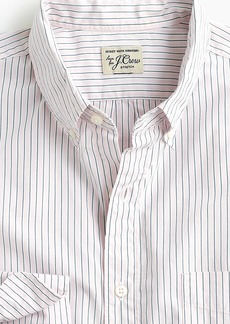 J.Crew Untucked stretch Secret Wash shirt in mixed stripe