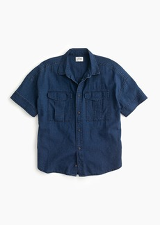 J.Crew Utility pocket shirt in denim