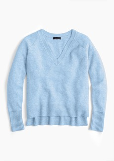 J.Crew V-neck sweater in supersoft yarn