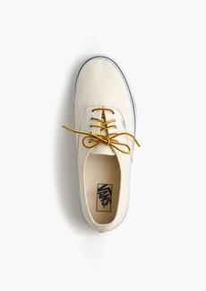 Vans® for J.Crew canvas authentic sneakers