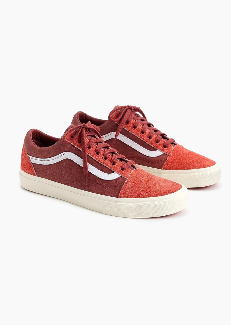 5cd2b1455538 J.Crew Vans® for J.Crew Old Skool sneakers in washed canvas