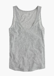 J.Crew Vintage cotton tank top