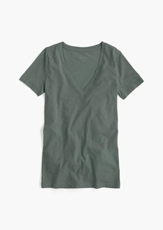 J.Crew Vintage cotton V-neck T-shirt