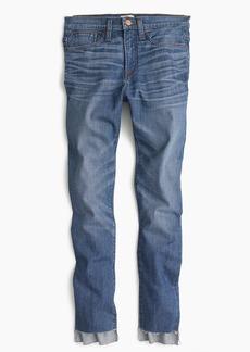 Tallvintage crop jean in Morton wash with step-hem