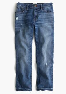 Vintage crop jean in Rhodes wash