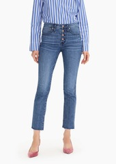 J.Crew Vintage straight eco jean with button fly