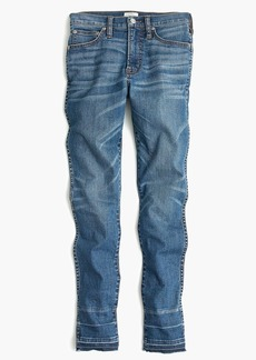 J.Crew Petite vintage straight jean in Piccadilly wash