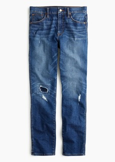 J.Crew Vintage straight jean in rip-and-repair