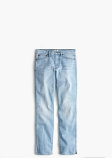 J.Crew Vintage straight jean with slit hems